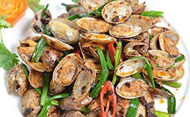 Clam Black Bean Sauce