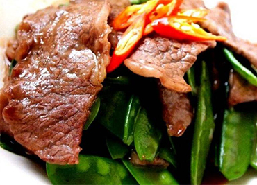Beef with Snow Pea