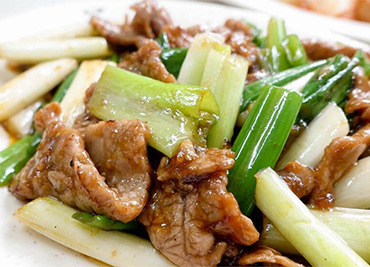 Scallion Beef or Lamb