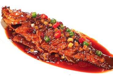 Sea Bass with Chili Sauce