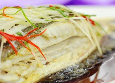 Steamed Pan Fried Whole Flounder