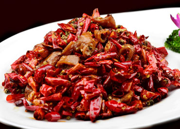 Dry Spicy Pork Intestine