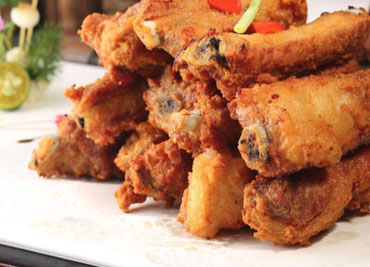 Fried Ribs Garlic
