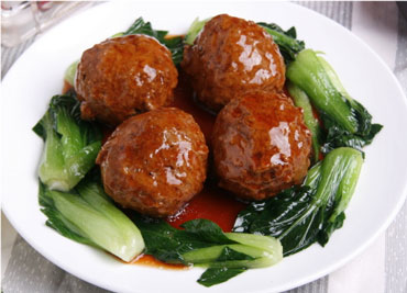 Shanghai Meatball with Brown Sauce