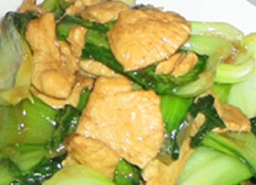Chicken with Baby Bok-Choy