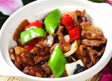 Chicken with Black Bean Sauce
