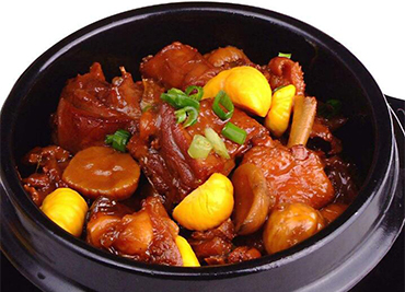 Chicken Chestnut In Pot