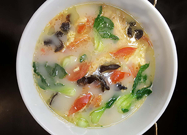 Home Vegetable Egg Soup