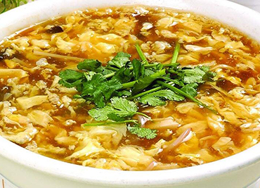 Vegetarian Hot Sour Soup