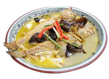Whole Yellow Croaker Soup